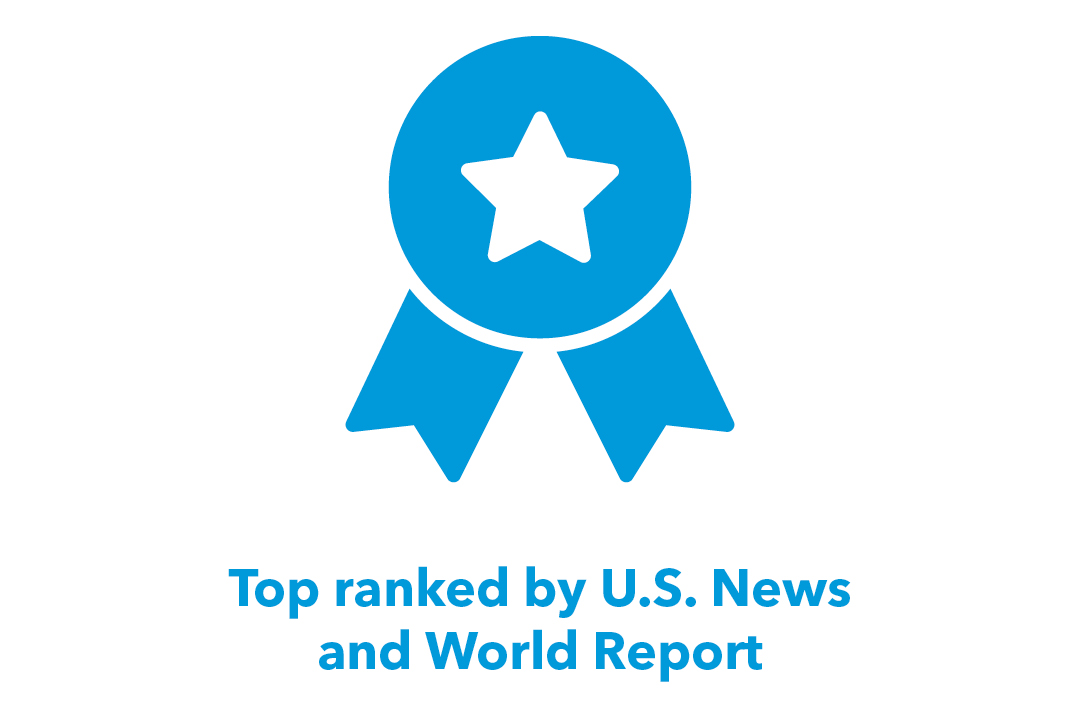 Top Ranked by US News and World Report